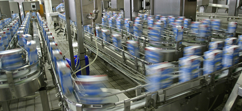 Solutions for Food Processing and<br/>Bottling Environments